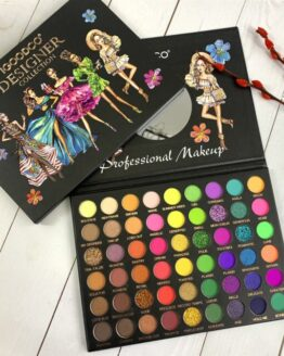 54 Colors Beauty Pattern Pearly Matte Sequins Large Multi-Color Eyeshadow Palette